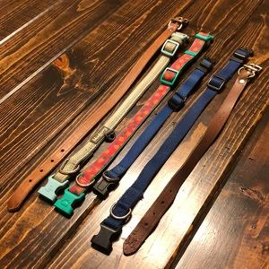 Other - 6 small/medium dog collars